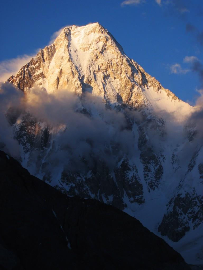 Gasherbrum IV, aussi majestueux que difficile.