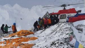 Camp de base de l'Everest au printemps 2015.