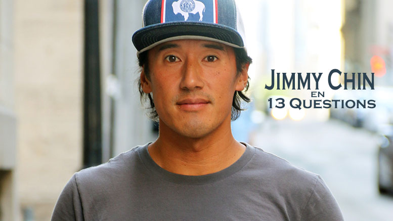 Jimmy Chin lors de son passage à Montréal | Photo: Ian Bergeron