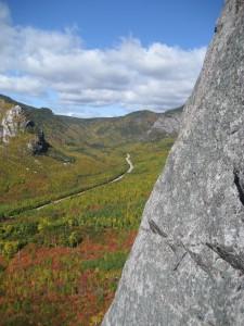 La vue du Mont de l'Ours