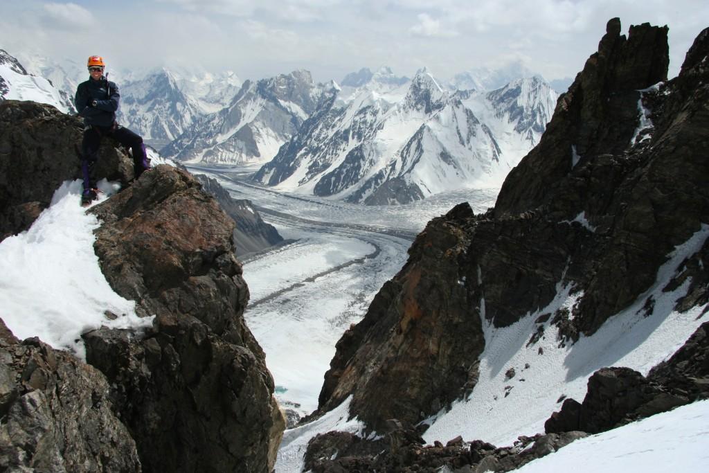 L'auteur au Camp 1 du K2 à plus ou moins 6000m