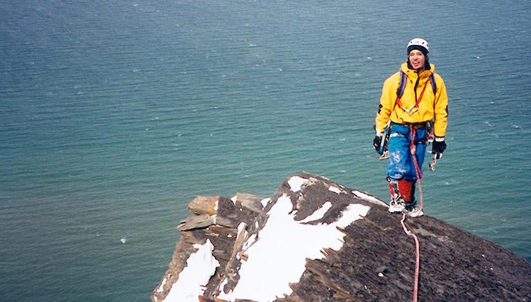 L'arrivée au sommet du mont Saint-Pierre |Photo François Roy