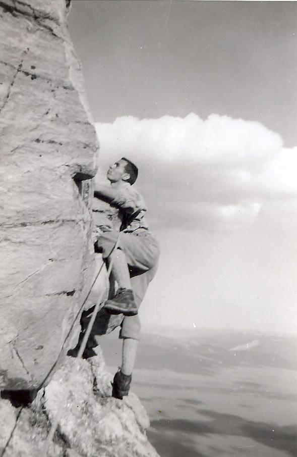 FX Garneau dans les Grand Tetons aux USA | Photo: Collection FX Garneau