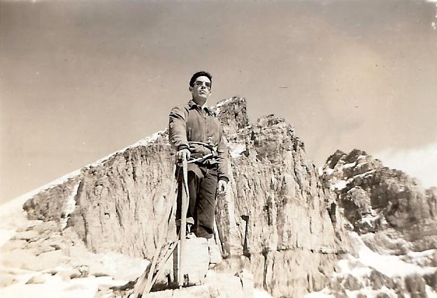 François Xavier Garneau a Aberdeen en 1954 | Photo: Collection FX Garneau