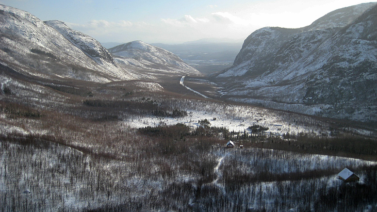Les Grands Jardins en hiver | Photo: Ian Bergeron