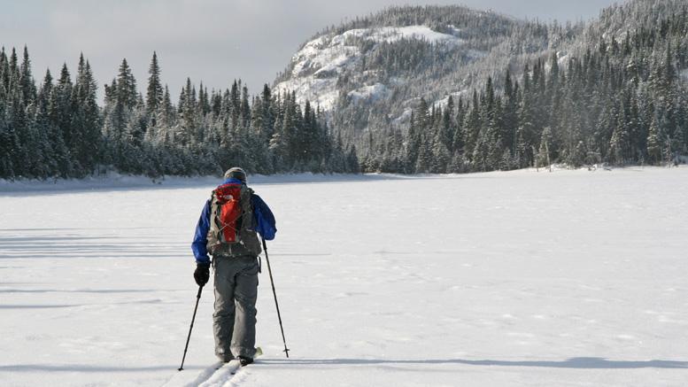 Ski hors pistes près du Dôme | Photo: Ian Bergeron
